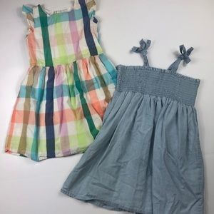 Gap and cotton on girls size 6 dresses bundle EUC